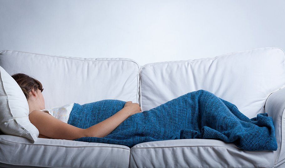 Можно ли беременным спать на спине