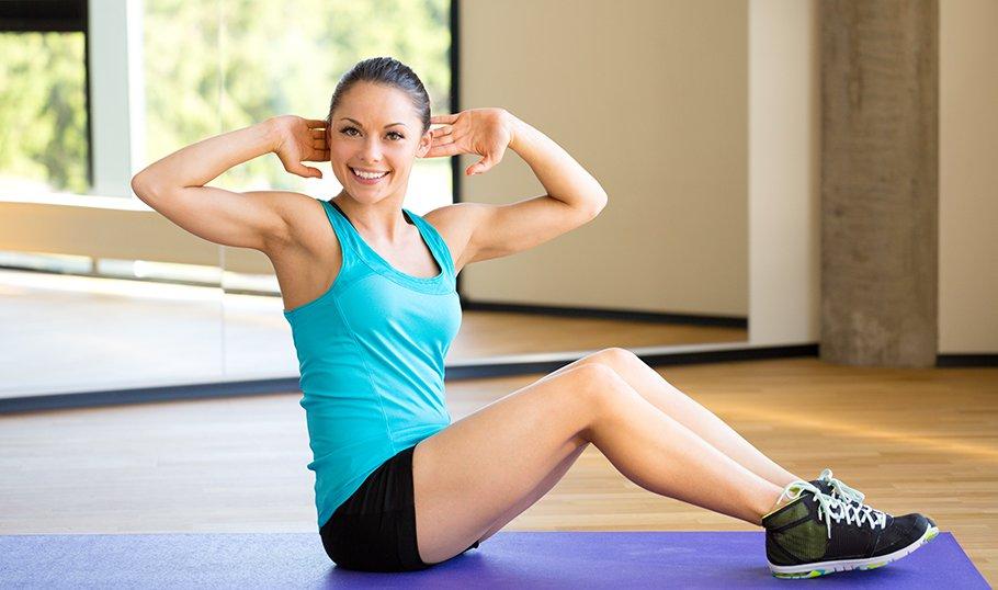 упражнения для похудения женщинам после 45