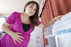 Резкие боли внизу живота при беременности