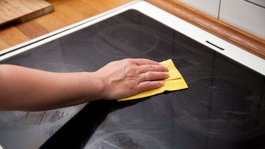 Как очистить стеклокерамику в домашних условиях 72