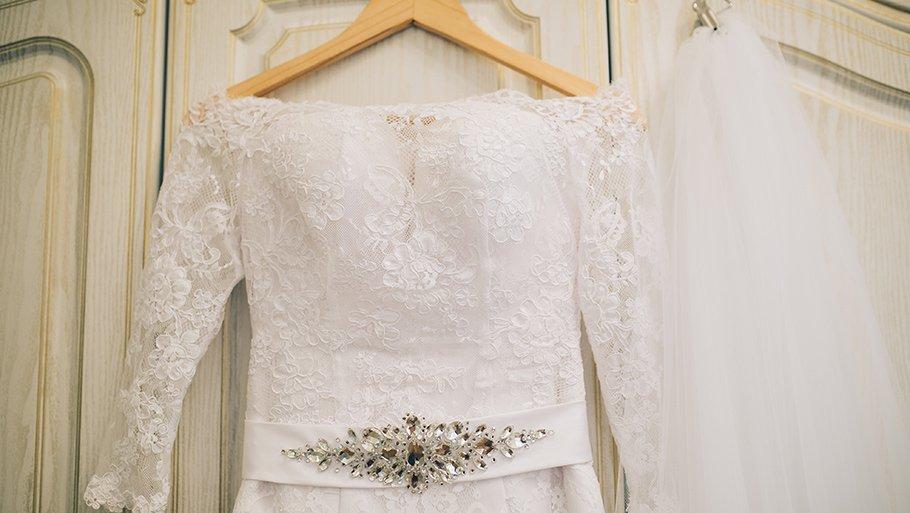 Постирать свадебное платье в домашних условиях 42