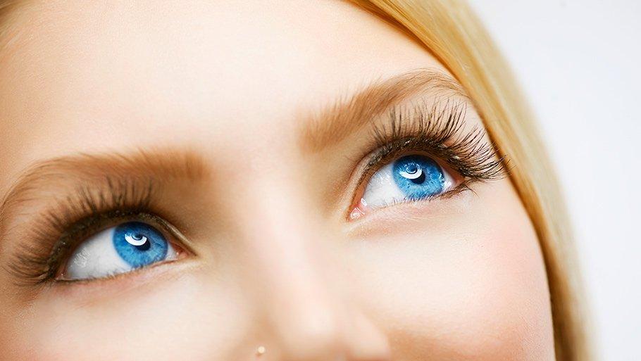Как сделать глаза более голубыми глазами 146