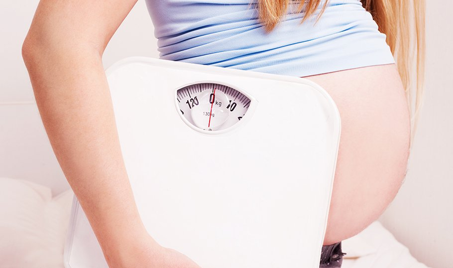 Как беременные набирают вес 92