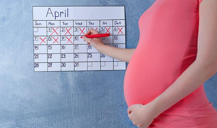 Как посчитать, сколько длится беременность у женщин?