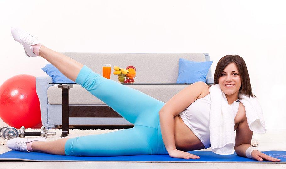 какие упражнения делать чтоб быстро похудеть
